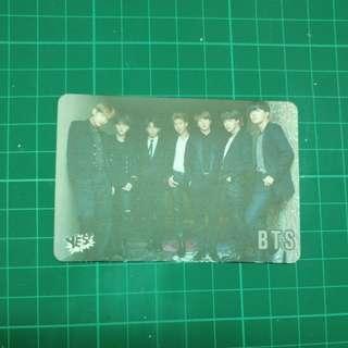 Yes card30期 bts 團體 mic drop
