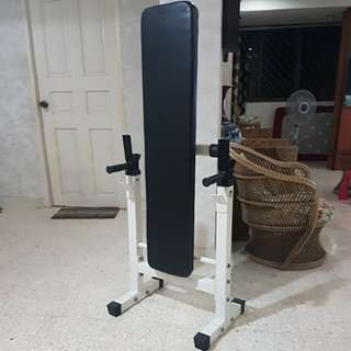 BENCH PRESS with DIP HANDLE