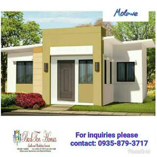 2 Bedroom RFO house and lot in Tanza Cavite