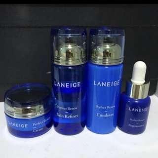 Laneige perfect renew travel set