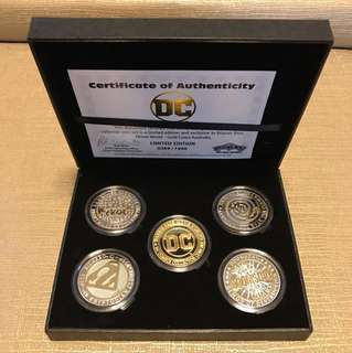 DC Super-Villains Collector Coin Set - Limited Edition