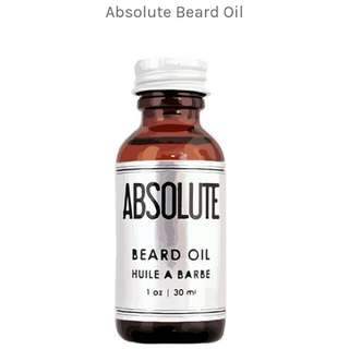 Absolute Beard oil (Pure Organic & Natural)