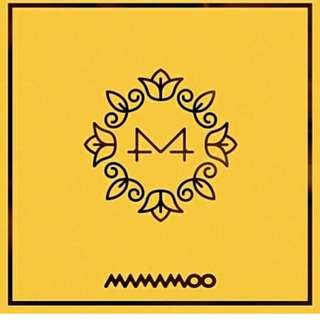 MAMAMOO - YELLOW. FLOWER