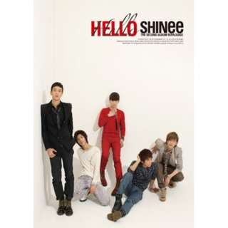 SHINEE VOL.2 REPACKAGE HELLO