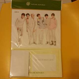 Nature Republic Exo-k memo pack