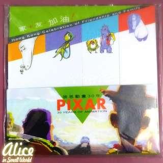 迪士尼彼思動畫30年Pixar展Memo便利貼 怪獸公司大學 毛毛 大眼仔 反斗奇兵 胡迪 巴斯光年