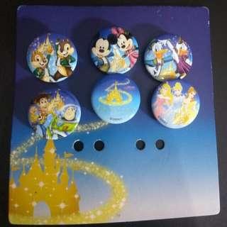 Disneyland Hong Kong - Button Badge
