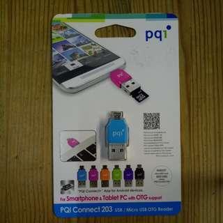 PQI micro SD card 讀咭器