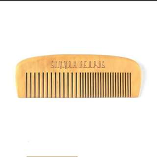 Beard Comb (wide & fine tooth)