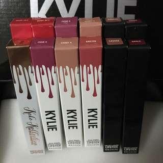 Kylie's Singles: Matte & Velvet Liquid Lipsticks instock!