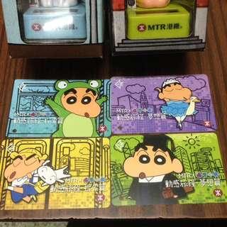 MTR x 蠟筆小新 地鐵票