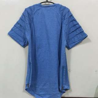 Hypebeast blue tshirt