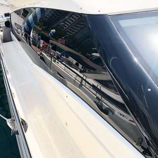 Yacht 3M Solar Film Window Tinting