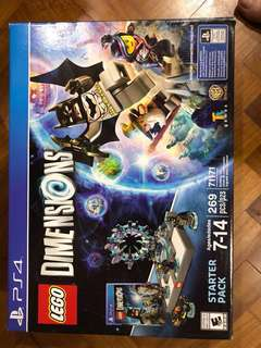 PS4 New Lego Dimension Starter Pack