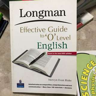 O Level English Assessment Book