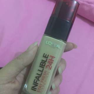 Loreal infallible stay fresh foundation 24H