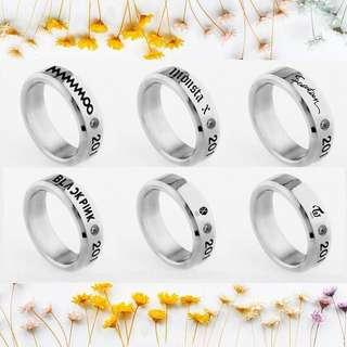 Kpop Group's Debut Ring