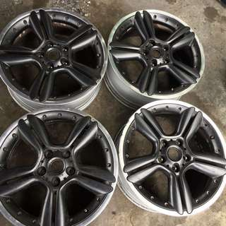 "Mini Countryman R128 18"" alloy wheel"