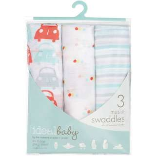 Aden and Anais Swaddle 3 Pack