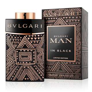 BVLGARI MAN IN BLACK LIMITED EDITION ESSENCE EDP FOR MEN (100ml/Tester) Bulgari MIB