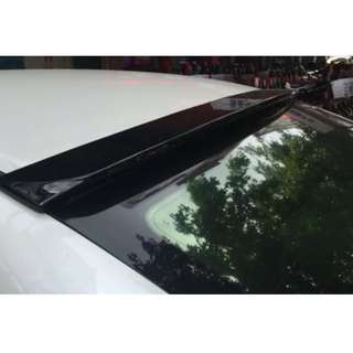 2006-2012 Honda Civic FD Roof Spoiler Lip Boot Lip!