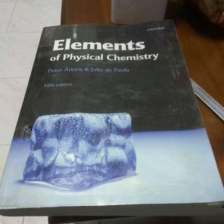 Elements of Physical Chemistry Fifth Edition