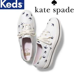 Keds x Kate Spade New York Champion Triple Bird Swallow Sneakers