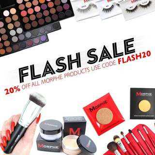 Authentic Instock Morphe Palettes and Lipsticks on sale here