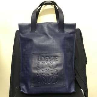 Loewe Navy Tote Bag