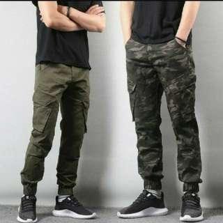 (2條/2pairs) 戶外旅行運動男士女士潮流創意型格寬鬆長褲 (有碼) (Seriestwo推廣系列) (包Buyup自取站取貨) (long pants)