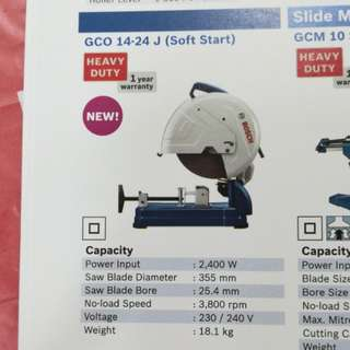 Bosch Cut Off Machine GCO14-24J