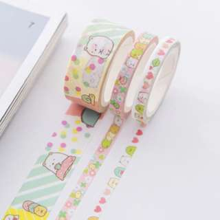 Sumikko Gurashi 3-in-1 Washi Tape #257