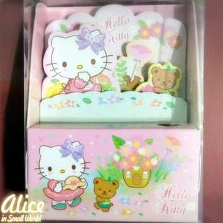 Hello Kitty Memo Pad 便條簿文具筆座 Sanrio