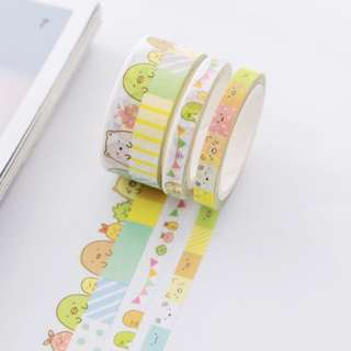 Sumikko Gurashi 3-in-1 Washi Tape #258