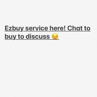Ezbuy helper service here!