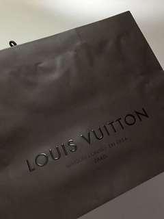 LV paper bags