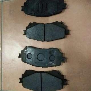 Mazda 6 front brake pads