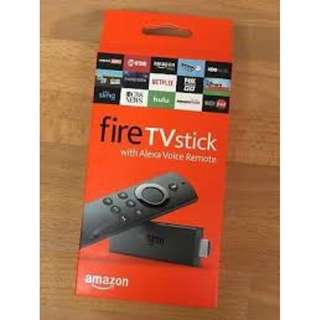 Fire TV Stick (2nd Gen) with Alexa Voice Remote | Streaming Android Media Player