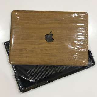 MacBook Pro 13 - Toughshell Hardcase (Wood Design)