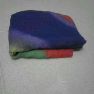 Pashmina rainbow