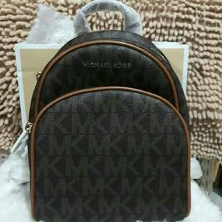 Authentic Michael Kors Abbey Backpack
