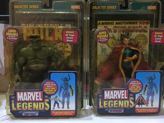 Marvel Legends Dr Strange & Grey Hulk action figure