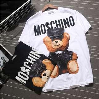 韓版棉質短袖熊熊T恤 2色選 S-XXL $88/件(原價$188/件)