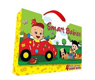 Smart Babies Early Learning Board Books