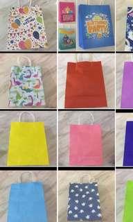 Goody bag- paper bag