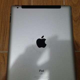 iPad 2 10 inch. 16gb Silver 2012 w/ sim slot