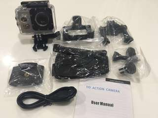 Full HD 1080p Action Camera / Sports Camera