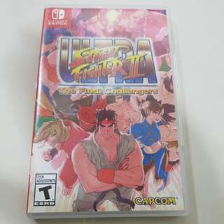 Nintendo switch game. Ultra Street Fighter II