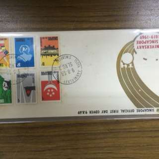 150th Anniversary of Singapore FDC