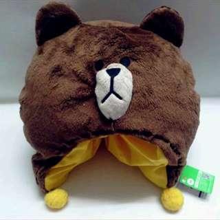 line熊大帽